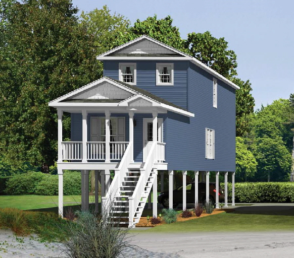 Modular Home Plans On Pilings Pictures To Pin On Pinterest