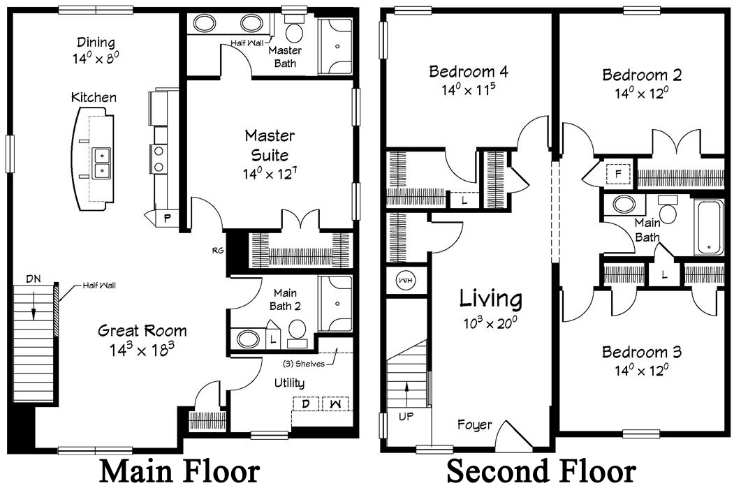 Modular 2 story home floor plans home design and style for Floor plans 2 story house