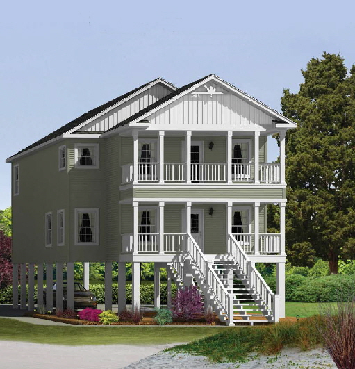 Modular home modular homes delaware shore for Modular homes on pilings